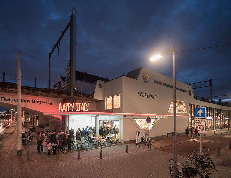 Hofbogen ondernemer: Jager Janssen Architecten, Station Bergweg