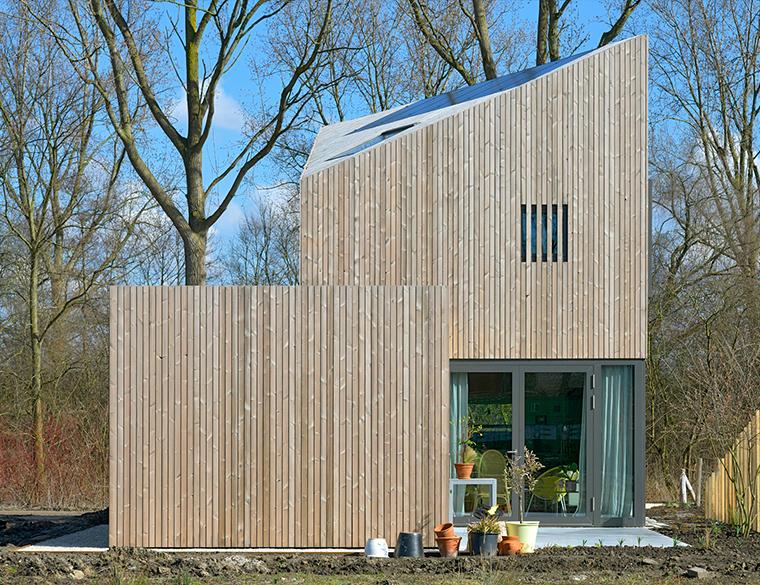 Hofbogen ondernemer: Jager Janssen Architecten, Huis De Zeeuw