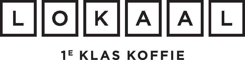 Hofbogen ondernemer: LOKAAL, 1e klas koffie, logo