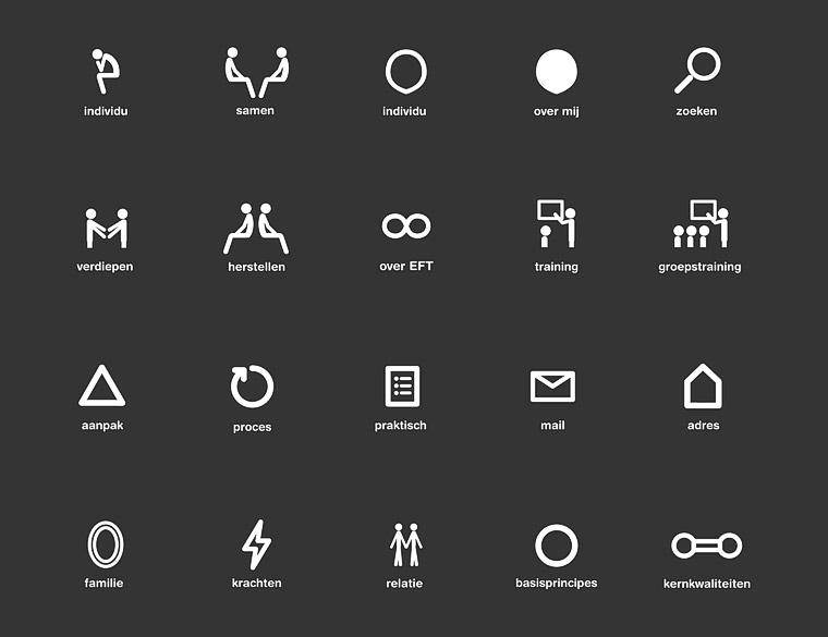 Hofbogen ondernemer: Miesman design, grafisch, iconen