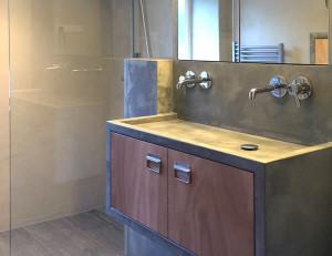 Hofbogen ondernemer: caroline tintel ontwerpt, interieur badkamer