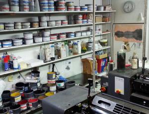 Hofbogen ondernemer: Drukkerij de Boog, drukinkt en offset