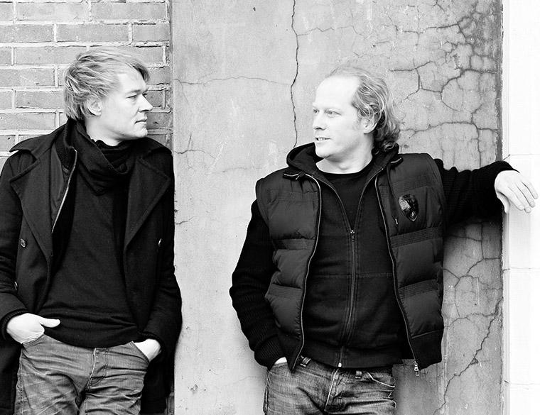 Hofbogen ondernemer: Jager Janssen Architecten, portret Alex Jager en Rogier Janssen