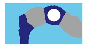 Hofbogen ondernemer: Drukkerij De Boog, logo