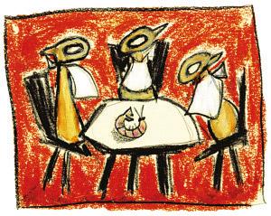 Hofbogen ondernemer: Keizer Culinair, logo