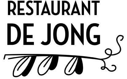 Hofbogen ondernemer: restaurant De Jong, logo