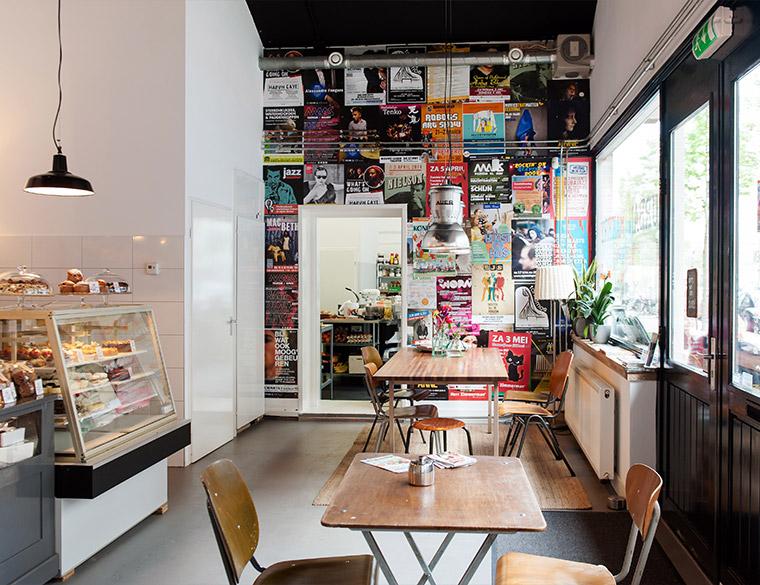 Hofbogen ondernemer: Urban Bakery, interieur