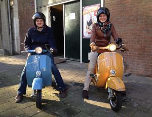 Hofbogen ondernemer: Vespatours, vespa scooters