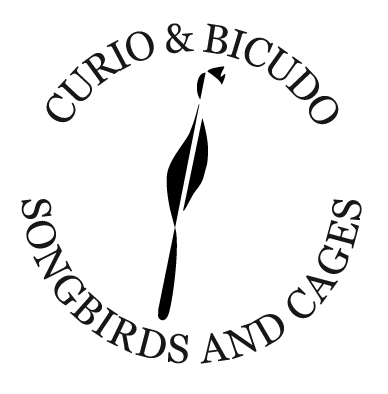Hofbogen ondernemer: curio&bicudo songbirds and cages, logo