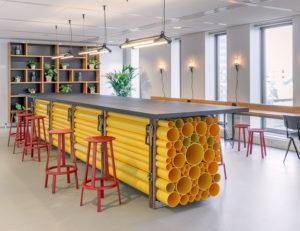 studio Biek - Stedin - interieur - werkcafe - Hofbogen