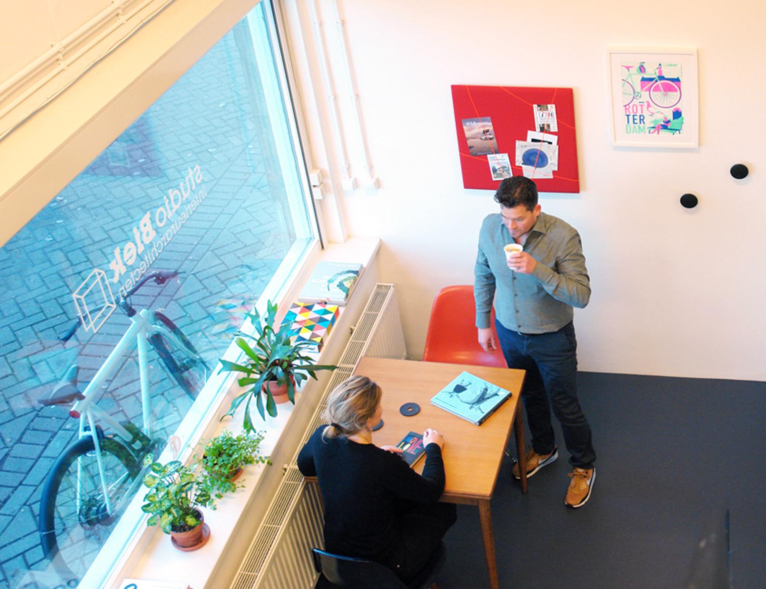 werkruimte - studio Biek - Hofbogen