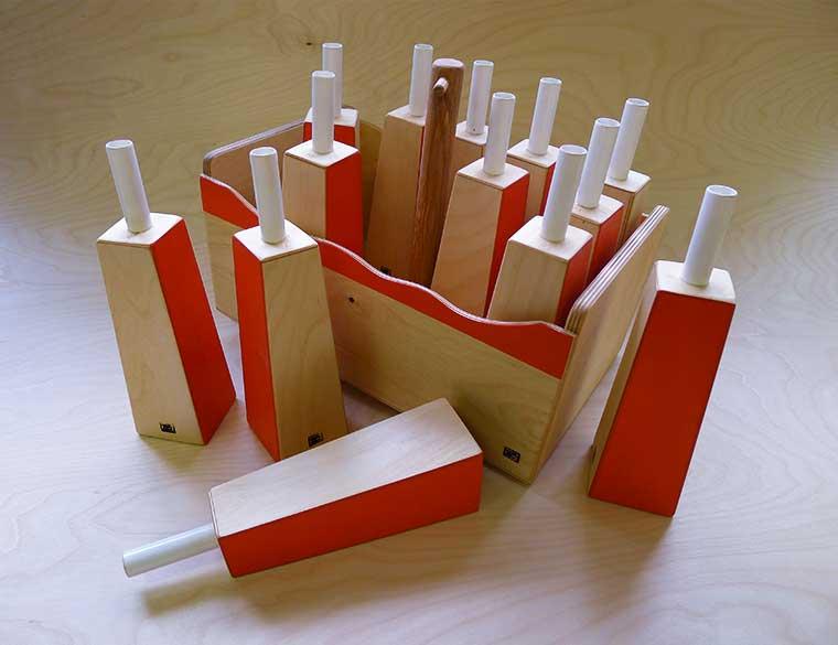 Hofbogen ondernemer: Tutti timbri, houten speelgoed, stemfluiten