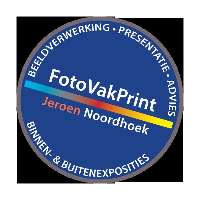 Hofbogen ondernemer: Fotovakprint, NOORDHOEK, logo