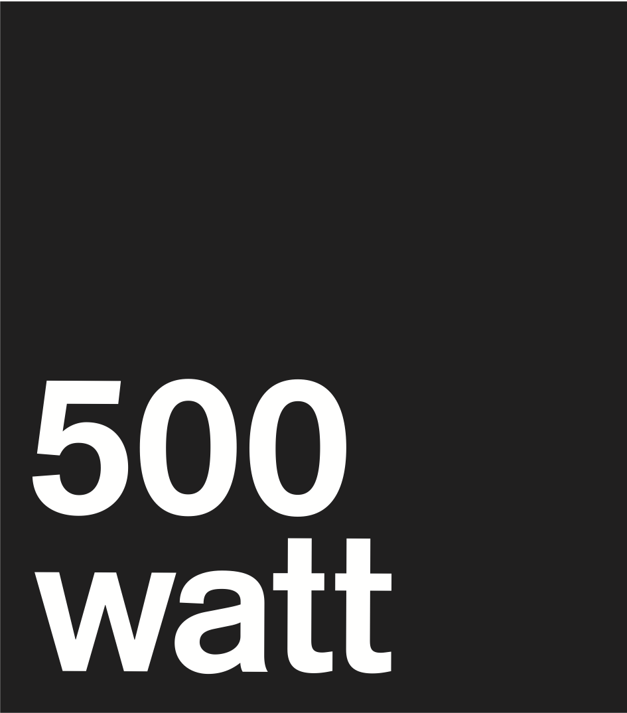 Hofbogen ondernemer: 500 Watt, logo