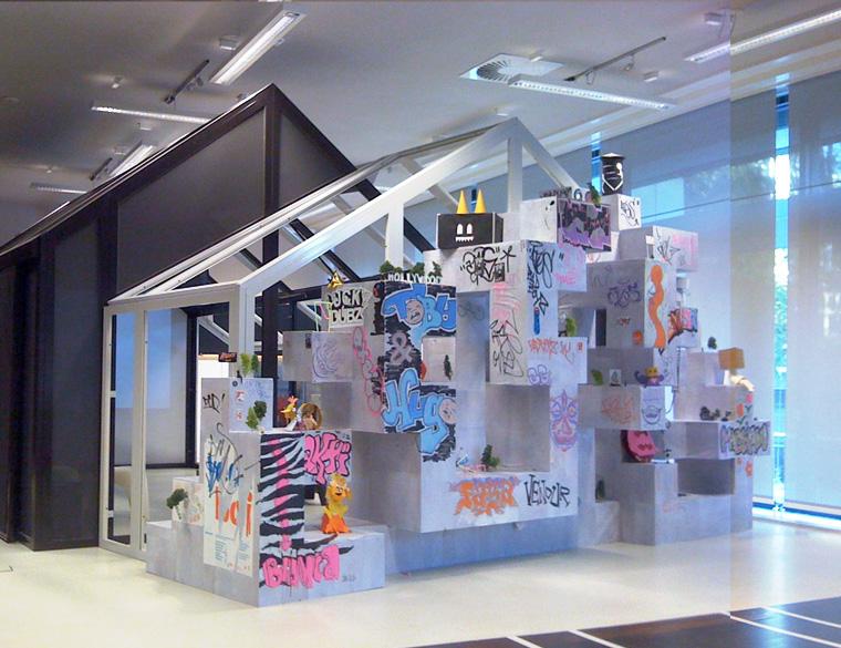 Hofbogen ondernemer: Baschz Leeft, Workshop: mini street art - Flippin' da Scale