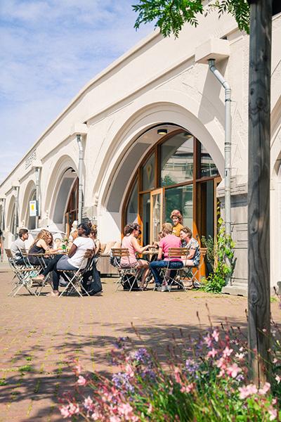 hofbogen_station-hofplein_lokaal-1e-klas-koffie ondernemers Rotterdam