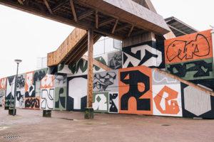 Muurschildering Opperclaes XL_Erosie Hofbogen