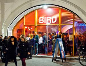 Hofbogen ondernemer: Bird, entree