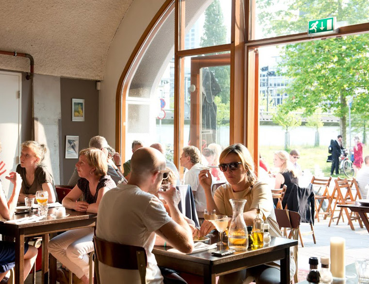 Hofbogen ondernemer: Bird, restaurant