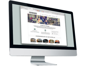 Hofbogen ondernemer: Miesman design, website