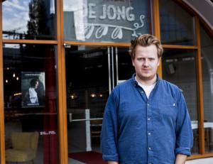 Hofbogen ondernemer: Restaurant De Jong, entree