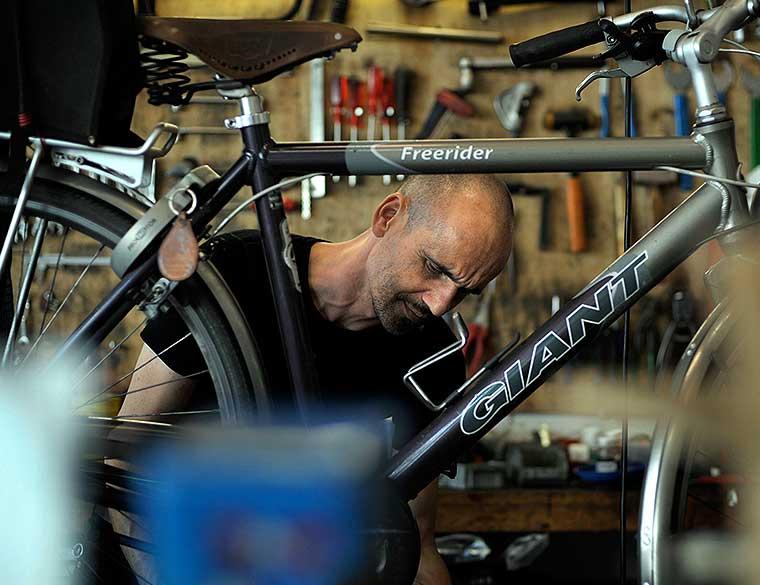 Hofbogen ondernemer: Kromme Spaak, fietsen maken