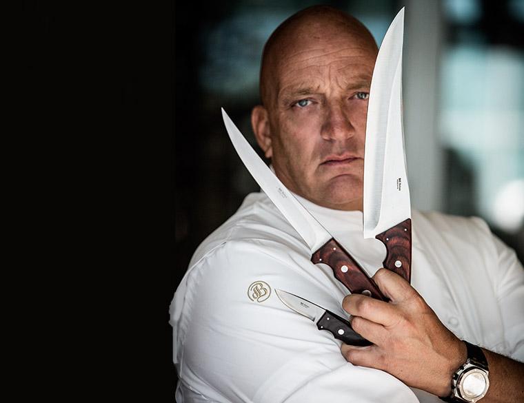 Hofbogen ondernemer: Hillknives, messenslijpen, Herman den Blijker