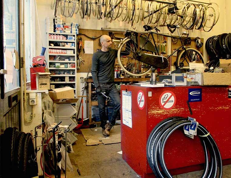 Hofbogen ondernemer: Kromme Spaak, fietsmaker