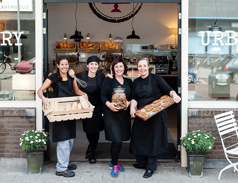 Hofbogen ondernemer: Urban Bakery, team