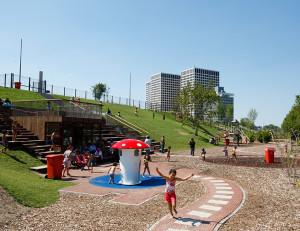 Hofbogen ondernemer: Vitibuck-Architects, speeltuin