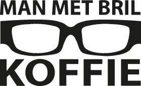 Hofbogen ondernemer: Man met bril koffie, logo
