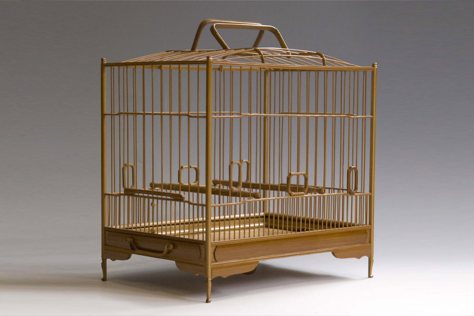 Hofbogen ondernemer: curio&bicudo songbirds and cages, vogelkooi