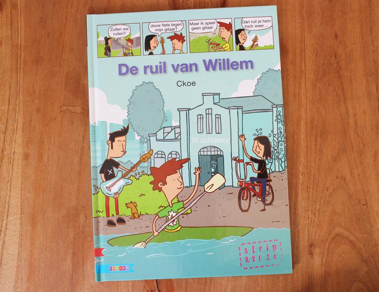 Hofbogen ondernemer: Ckoe, strip, De Ruil Van Willem