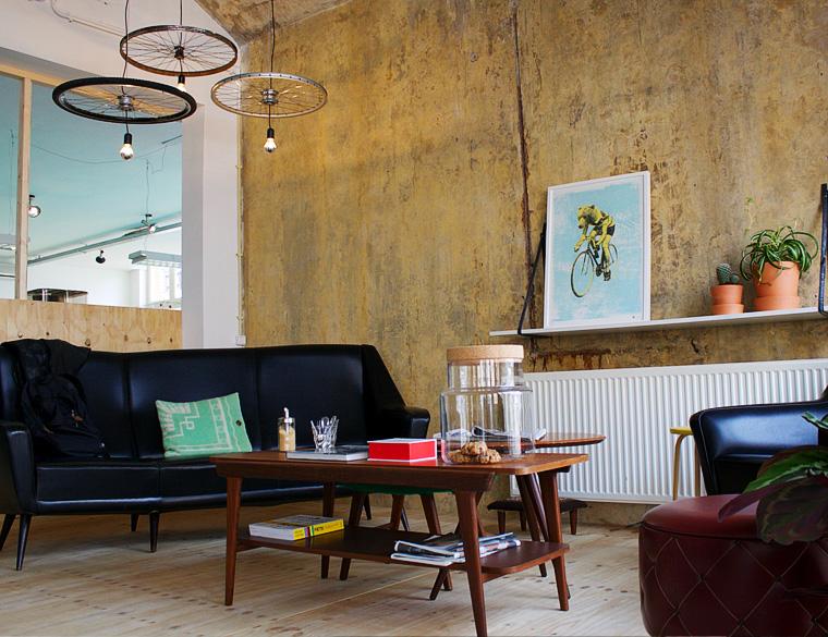 Hofbogen - Coppi fietsen en koffie - interieur