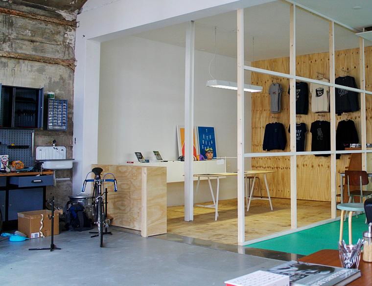 Hofbogen - Coppi fietsen en koffie - reparatie interieur