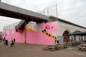 Pink Wall Rotterdam Hofbogen