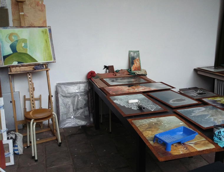 Ondernemer Hofbogen: Ateleir Agnes Westerduin, Schilderen